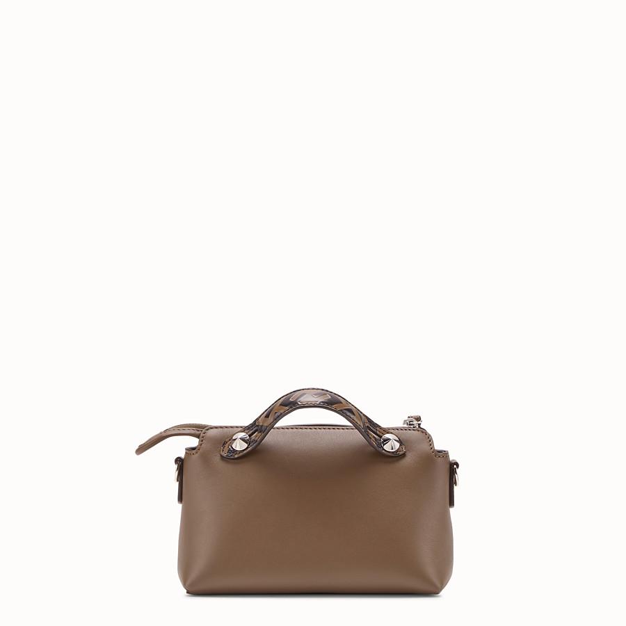 bab05b0f5d Small brown leather Boston bag - BY THE WAY MINI | Fendi