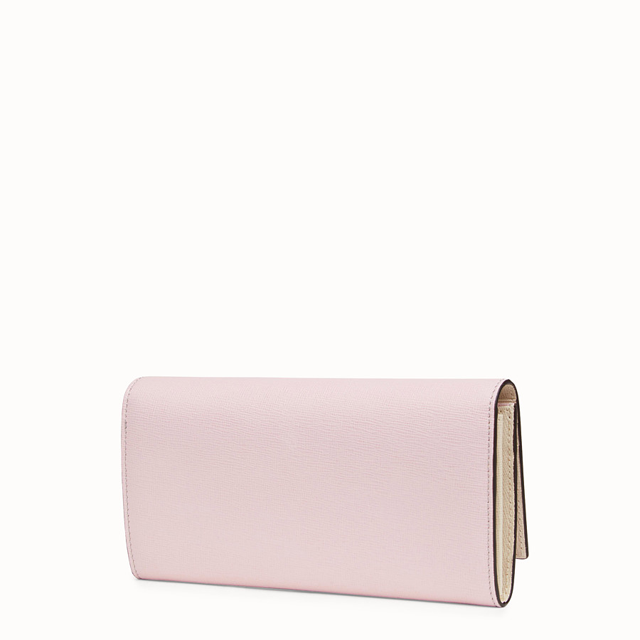 FENDI CONTINENTAL - Multicolor leather wallet - view 2 detail