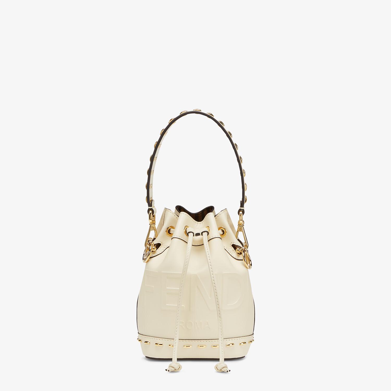 FENDI MON TRESOR - White leather mini-bag - view 1 detail