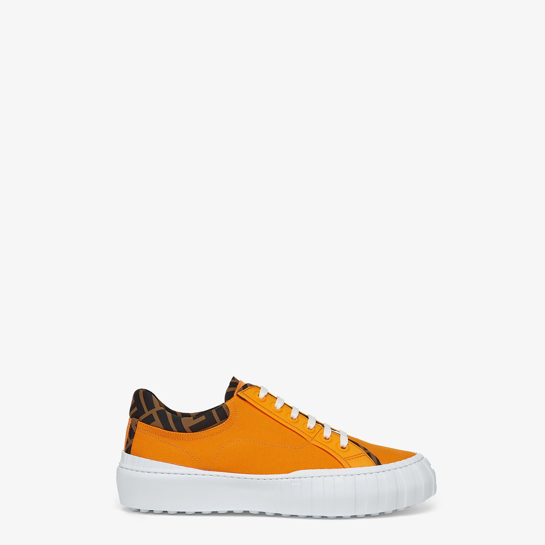 FENDI SNEAKER - Low-Top aus Canvas in Orange - view 1 detail