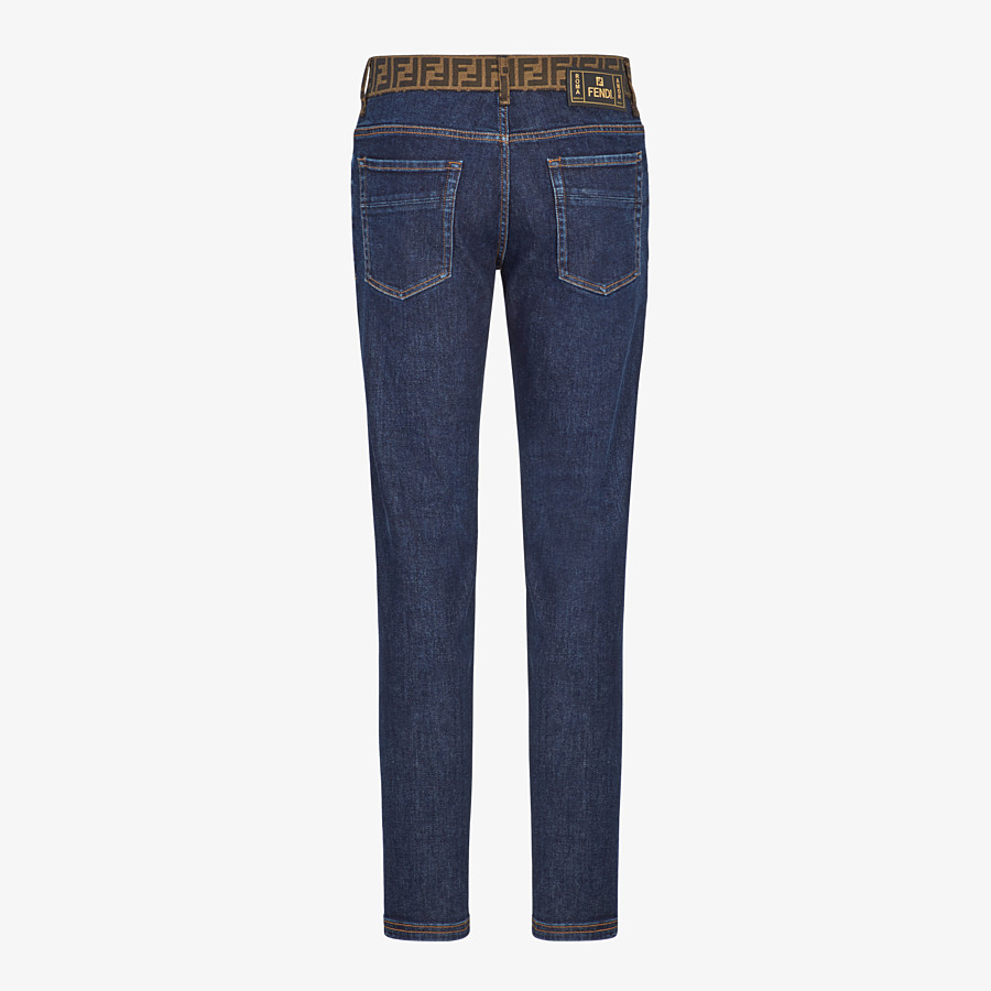 FENDI JEANS - Jeans aus Denim in Blau - view 2 detail
