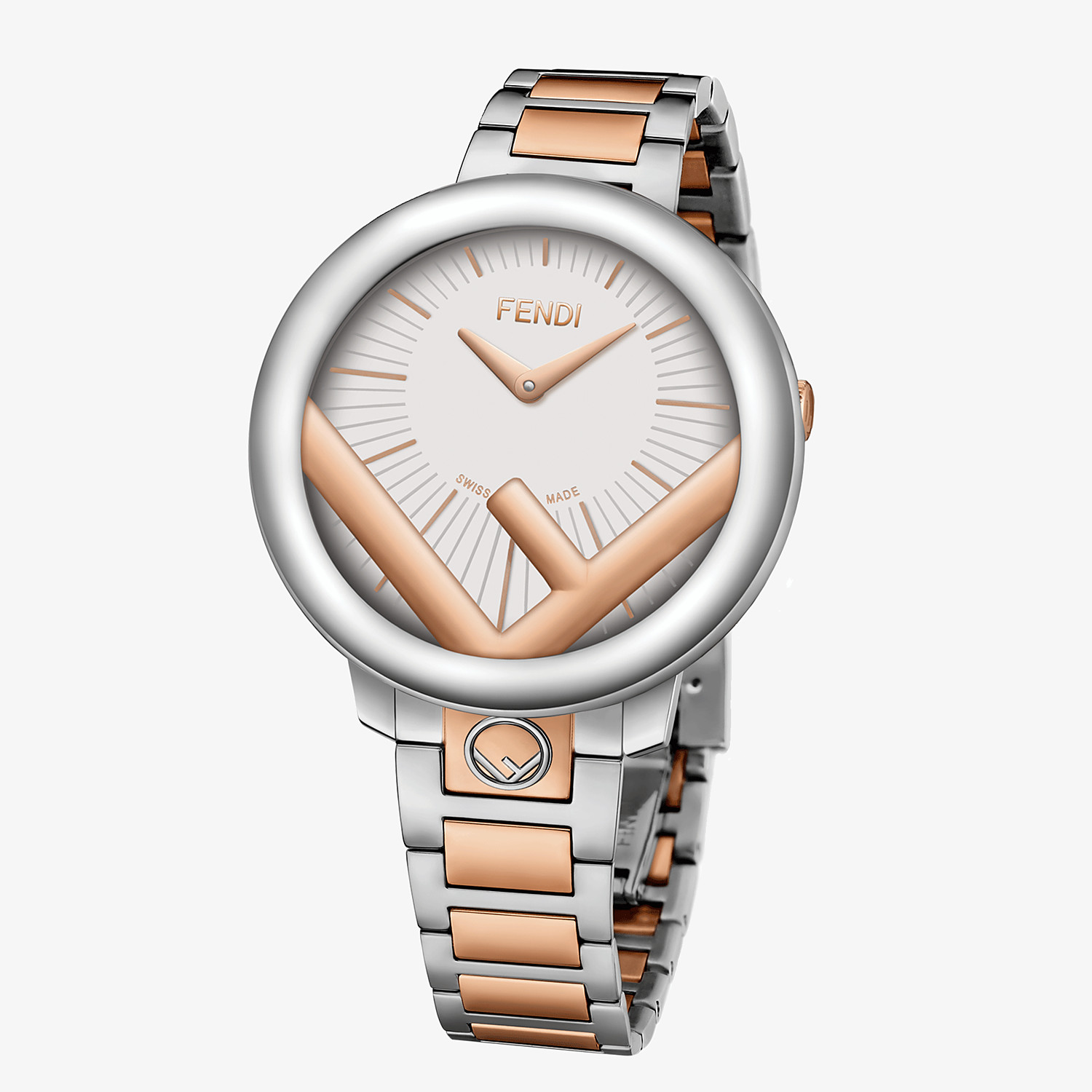 FENDI RUN AWAY - 36 mm (1.4 inch) - Watch with F is Fendi logo - view 2 detail