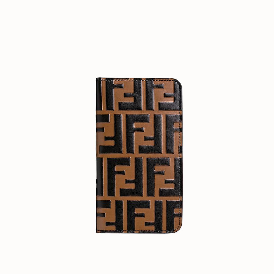 FENDI iPHONE X CASE - Multicolor flip-cover case - view 1 detail