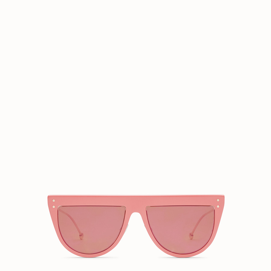 FENDI DEFENDER - Pink sunglasses - view 1 detail