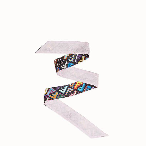 FENDI WRAPPY FUN FENDI - Bandana de seda multicolor - view 1 small thumbnail