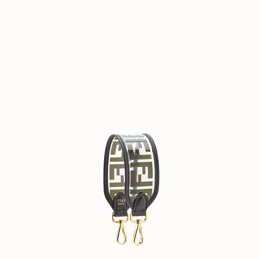 FENDI MINI STRAP YOU - Shoulder strap in transparent canvas - view 1 detail