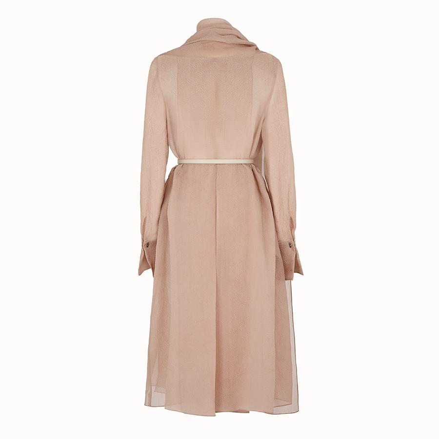 FENDI ドレス - ベージュオーガンジー ドレス - view 2 detail