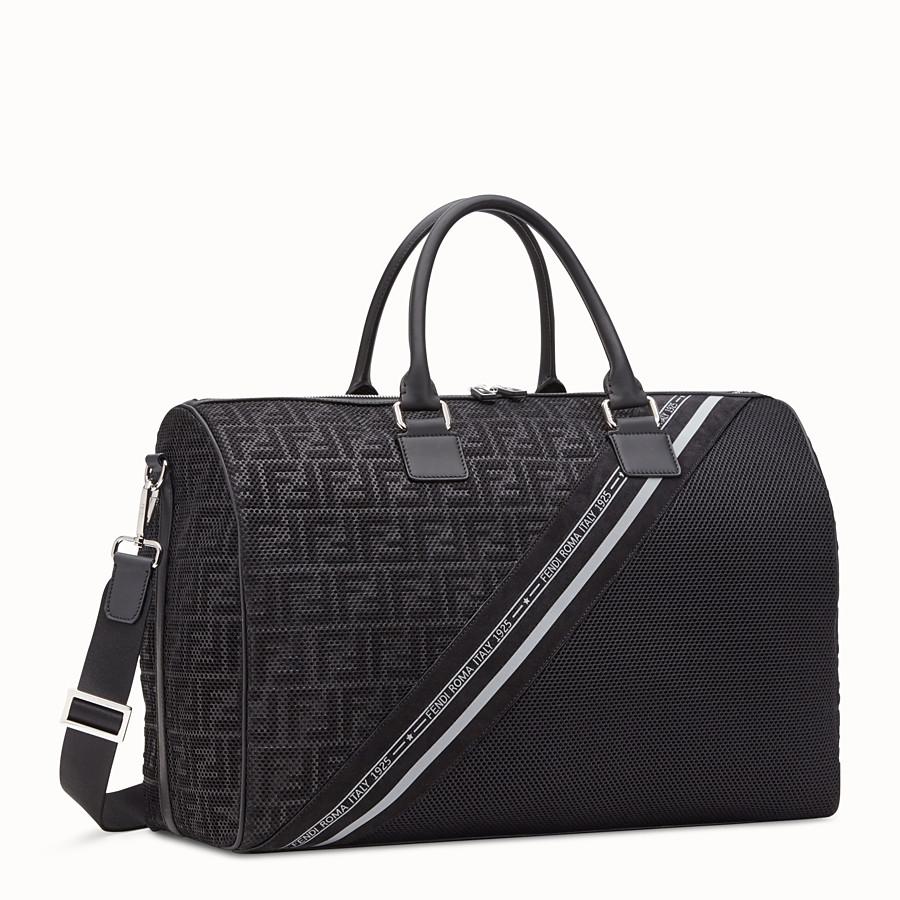 FENDI TRAVEL BAG - Large bag in black tech fabric - view 2 detail