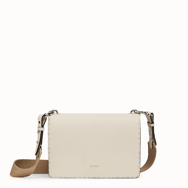 FENDI MESSENGER - White leather messenger - view 1 small thumbnail