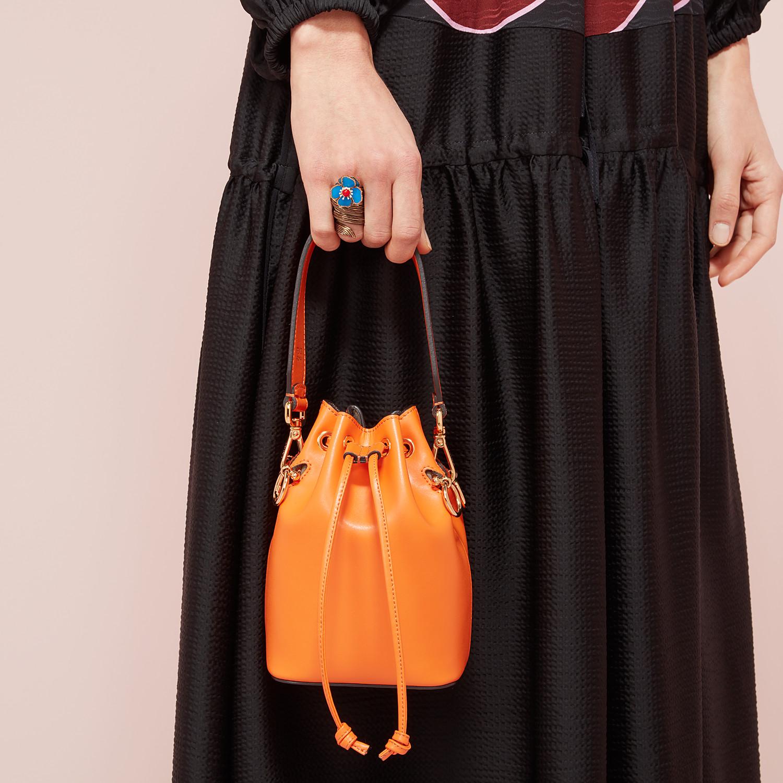 FENDI MON TRESOR - Orange leather mini-bag - view 2 detail