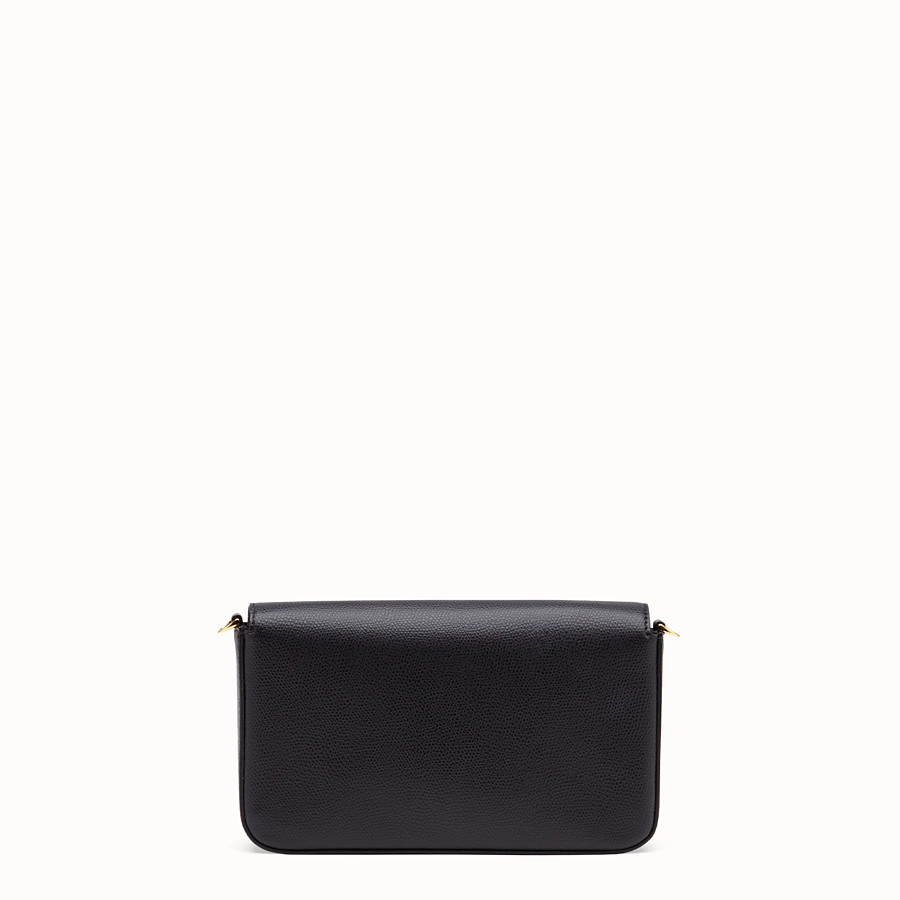 FENDI WALLET ON CHAIN WITH POUCHES - Black leather minibag - view 5 detail