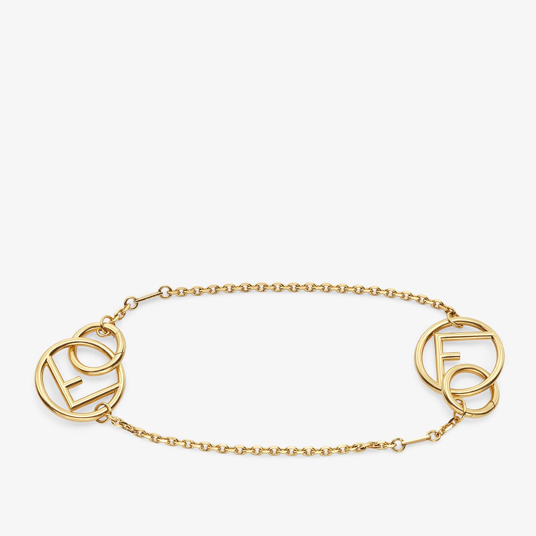 FENDI F IS FENDI BRACELET - Gold-color bracelet - view 3 detail