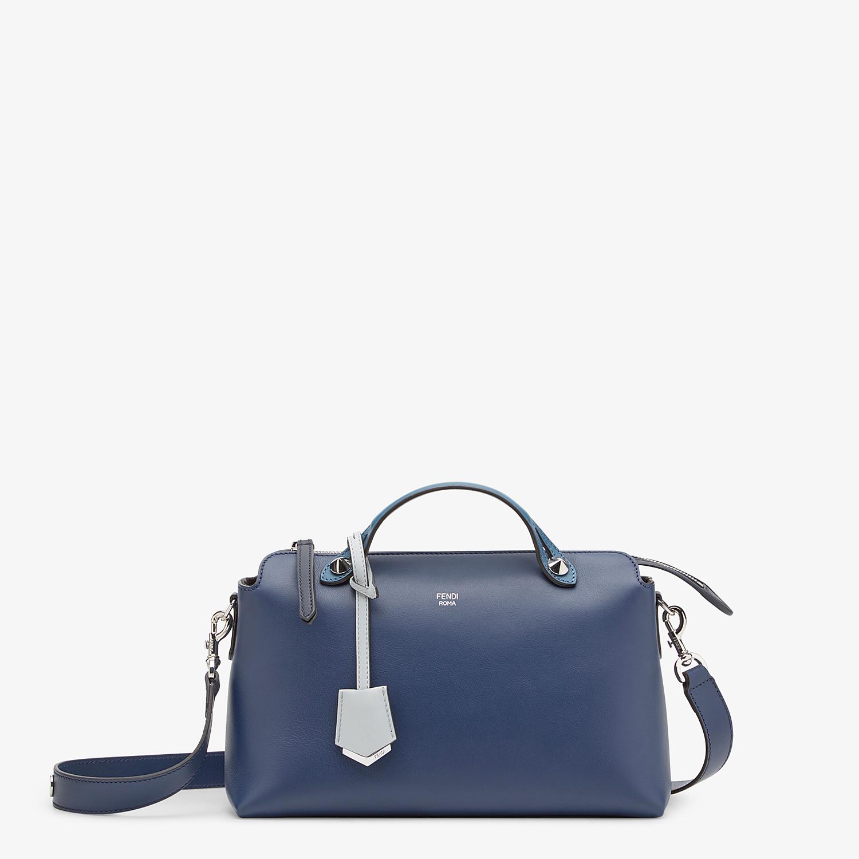 FENDI BY THE WAY MEDIUM - Blue leather Boston bag - view 1 detail