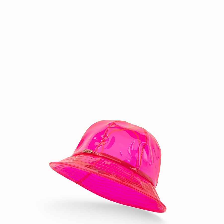 FENDI HAT - Fendi Roma Amor PU hat - view 1 detail