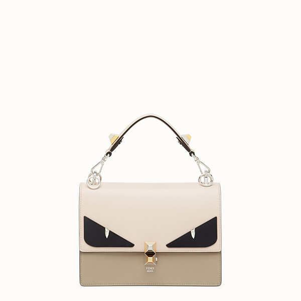 FENDI KAN I - Beige leather bag - view 1 small thumbnail