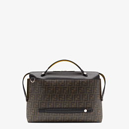 FENDI BY THE WAY  - Tasche aus Stoff in Braun - view 3 thumbnail