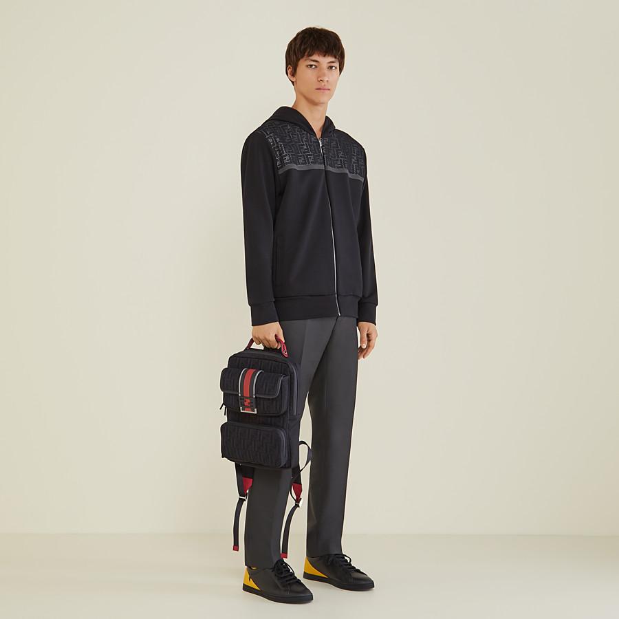 FENDI pants - Gray wool pants - view 4 detail