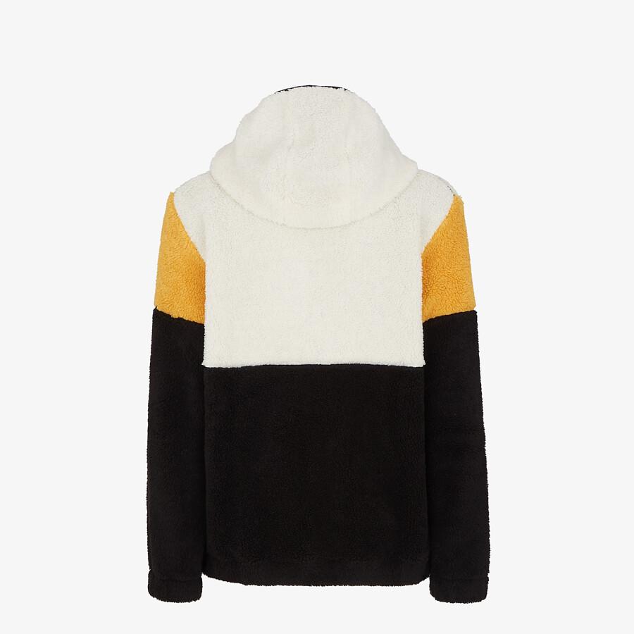 FENDI SWEATSHIRT - Multicolor wool sweatshirt - view 2 detail