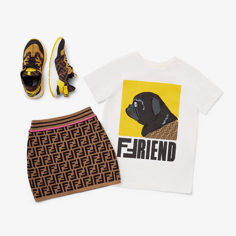 FENDI KNITTED JUNIOR SKIRT - Knitted junior skirt - view 4 detail