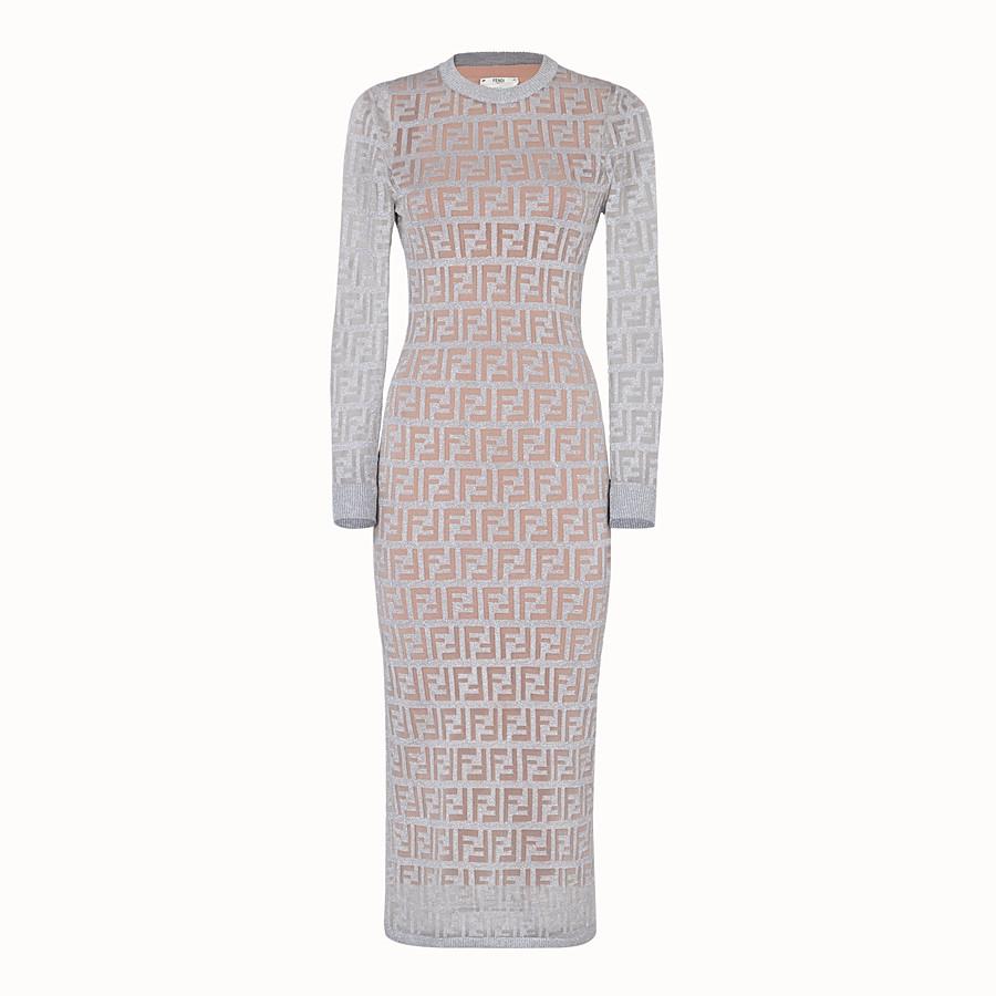 FENDI 裙裝 - 銀色針織洋裝 - view 1 detail