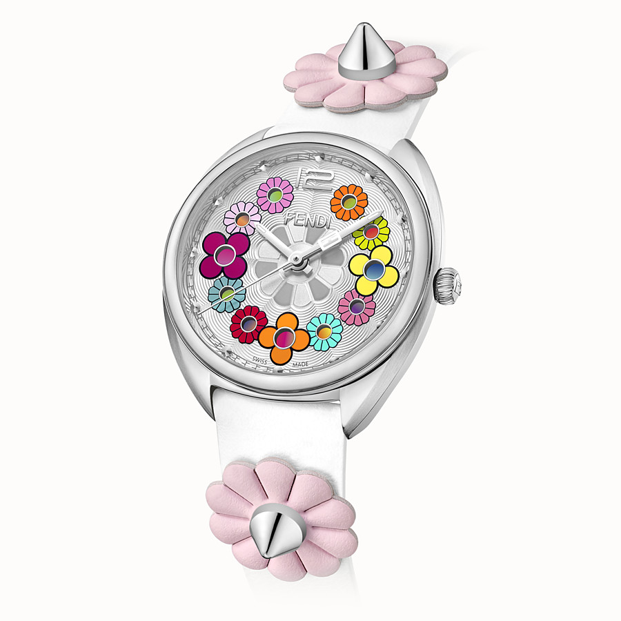 FENDI MOMENTO FENDI - 34 mm - Watch with flowers and strap - view 2 detail
