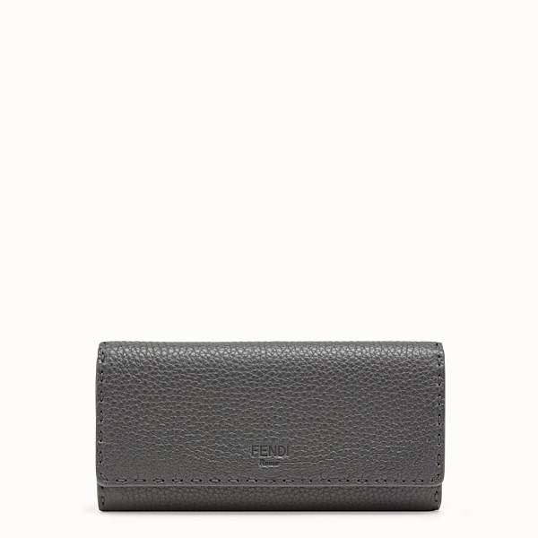 FENDI CONTINENTAL - Grey leather wallet - view 1 small thumbnail