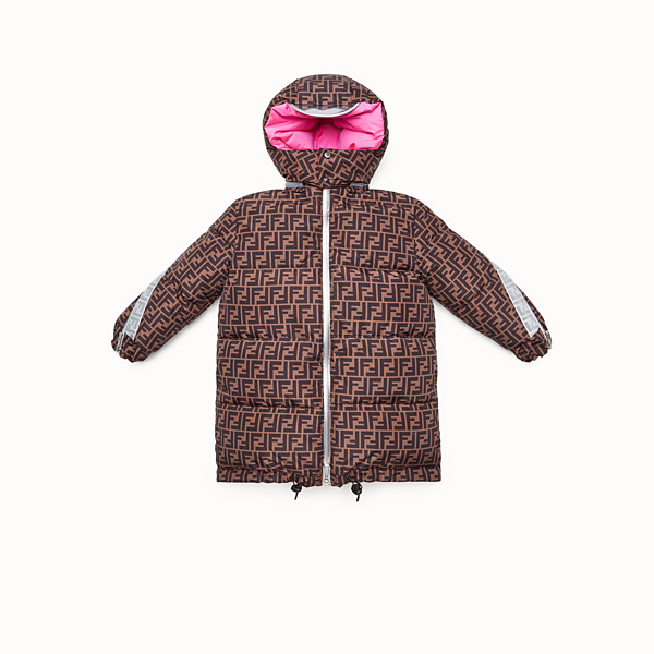 FENDI DOWN JACKET - Fendi Prints On reversible down jacket with FF logo - view 1 small thumbnail