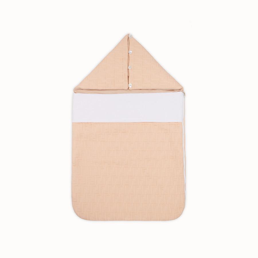 FENDI SLEEPING BAG - Pink cotton sleeping bag - view 1 detail