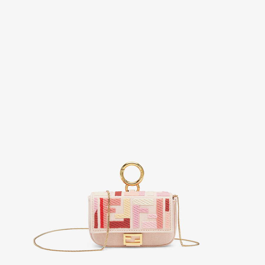 FENDI NANO BAGUETTE CHARM - Charm from the Lunar New Year Limited Capsule Collection - view 1 detail