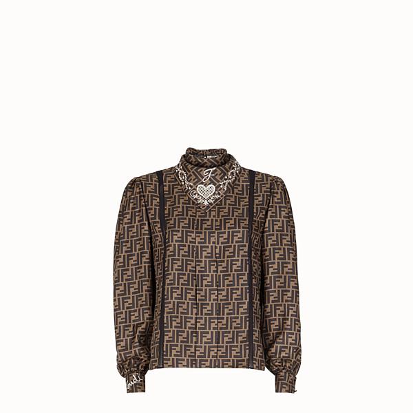 FENDI SHIRT - Multicolour cotton shirt - view 1 small thumbnail