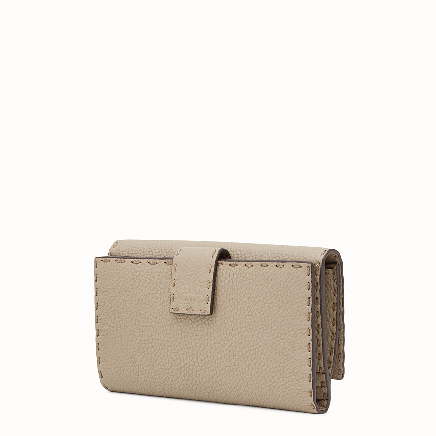 FENDI CONTINENTAL - Selleria cord-coloured continental wallet - view 2 detail