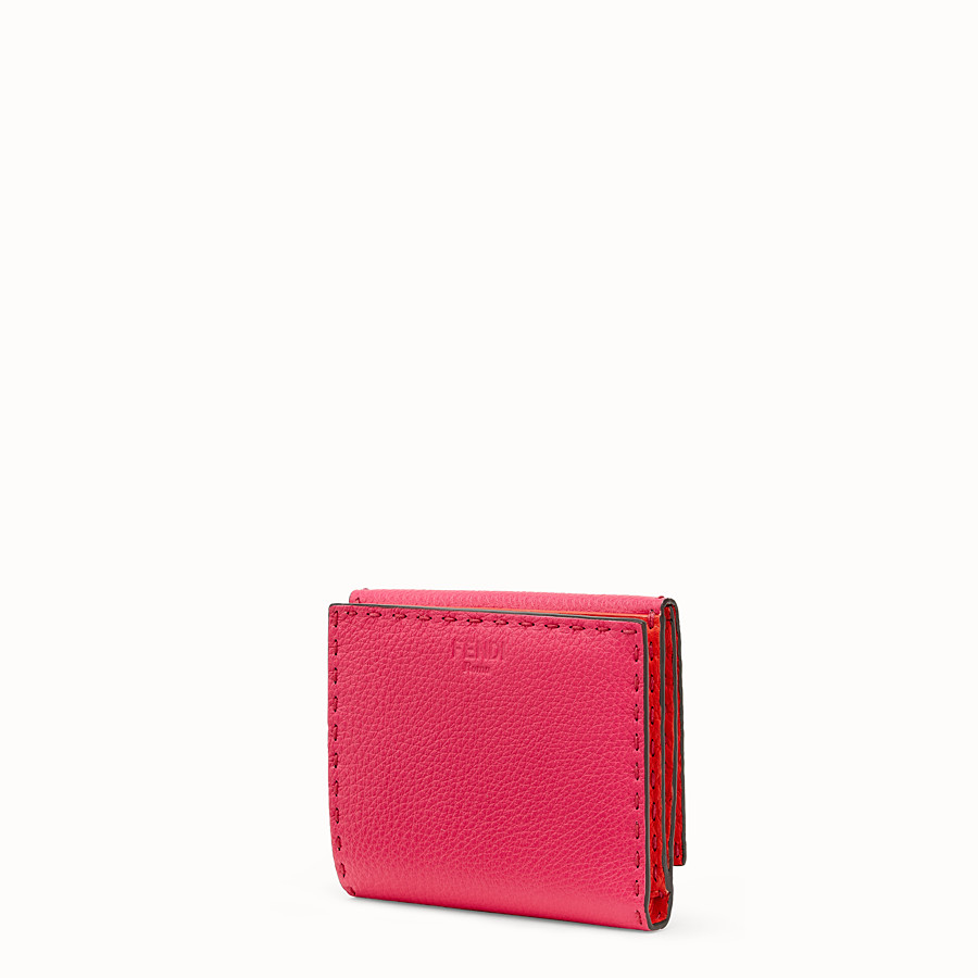 FENDI CONTINENTAL MEDIUM - Fendi Roma Amor leather wallet - view 2 detail