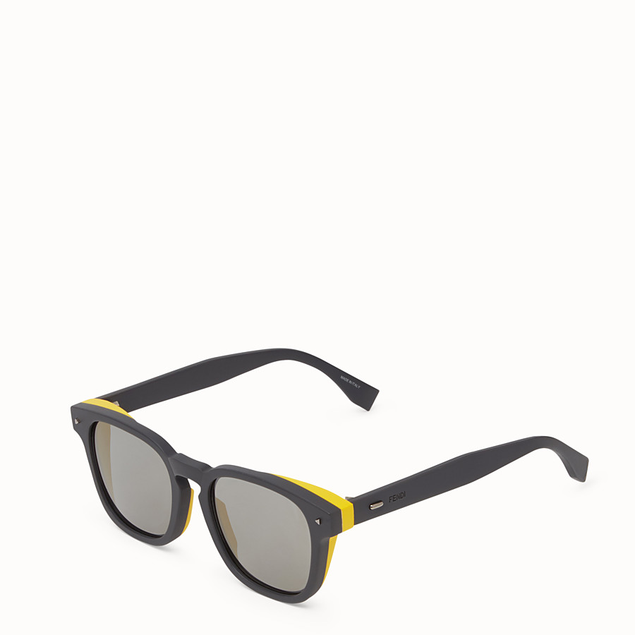 FENDI I SEE YOU - Grey sunglasses - view 2 detail