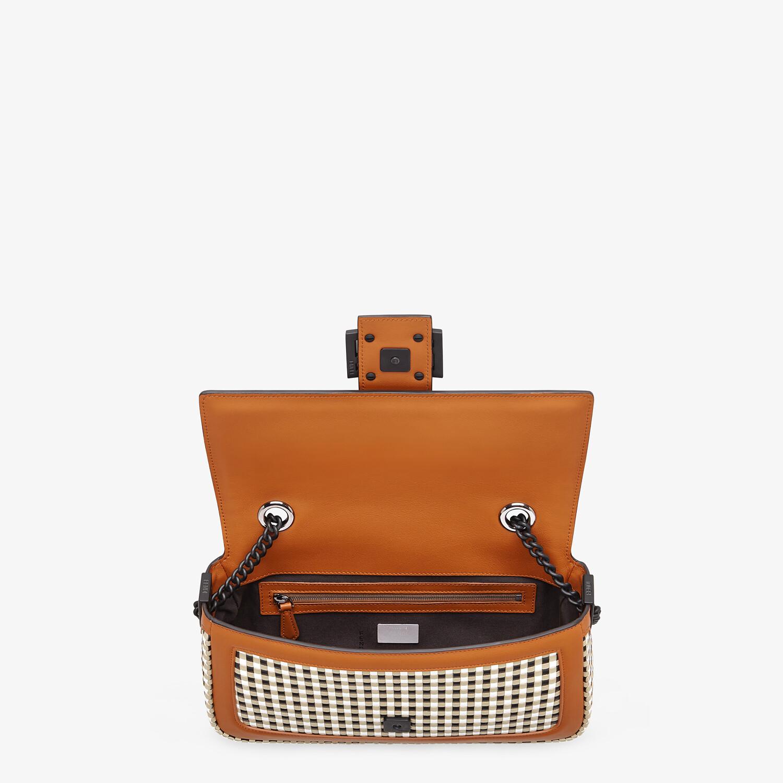 FENDI BAGUETTE CHAIN - Vichy interlace bag - view 5 detail