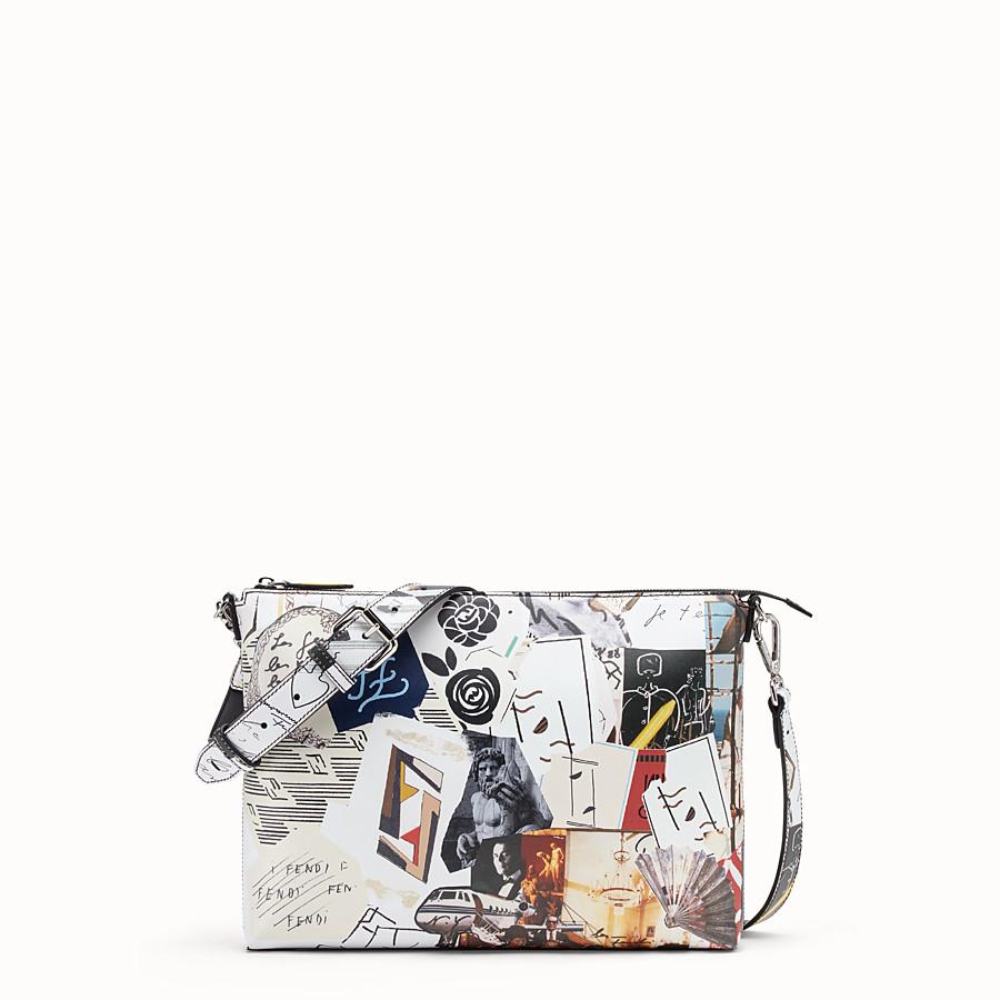 FENDI MESSENGER - Multicolour leather bag - view 1 detail