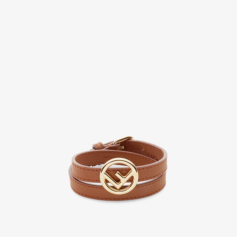 FENDI F IS FENDI BRACELET - Brown bracelet - view 1 detail