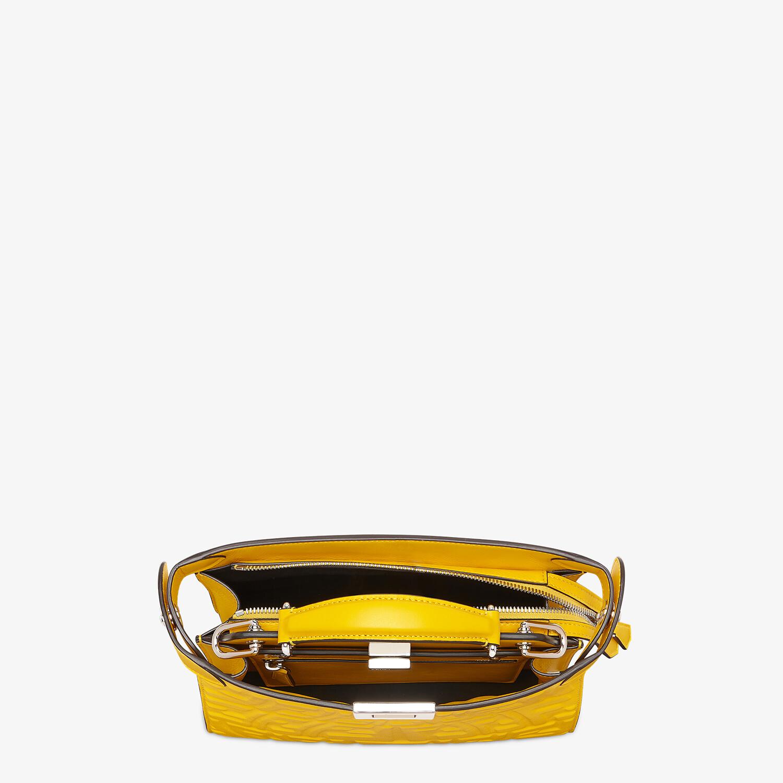 FENDI PEEKABOO ISEEU MINI - Yellow nappa leather bag - view 5 detail