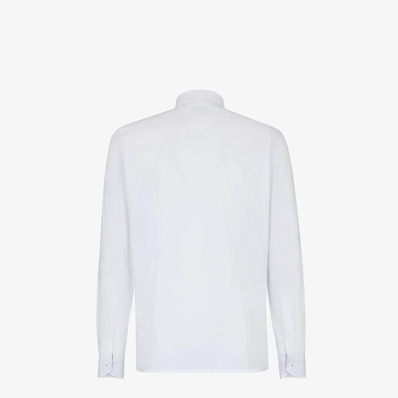 FENDI 恤衫 - 白色棉質恤衫 - view 2 detail