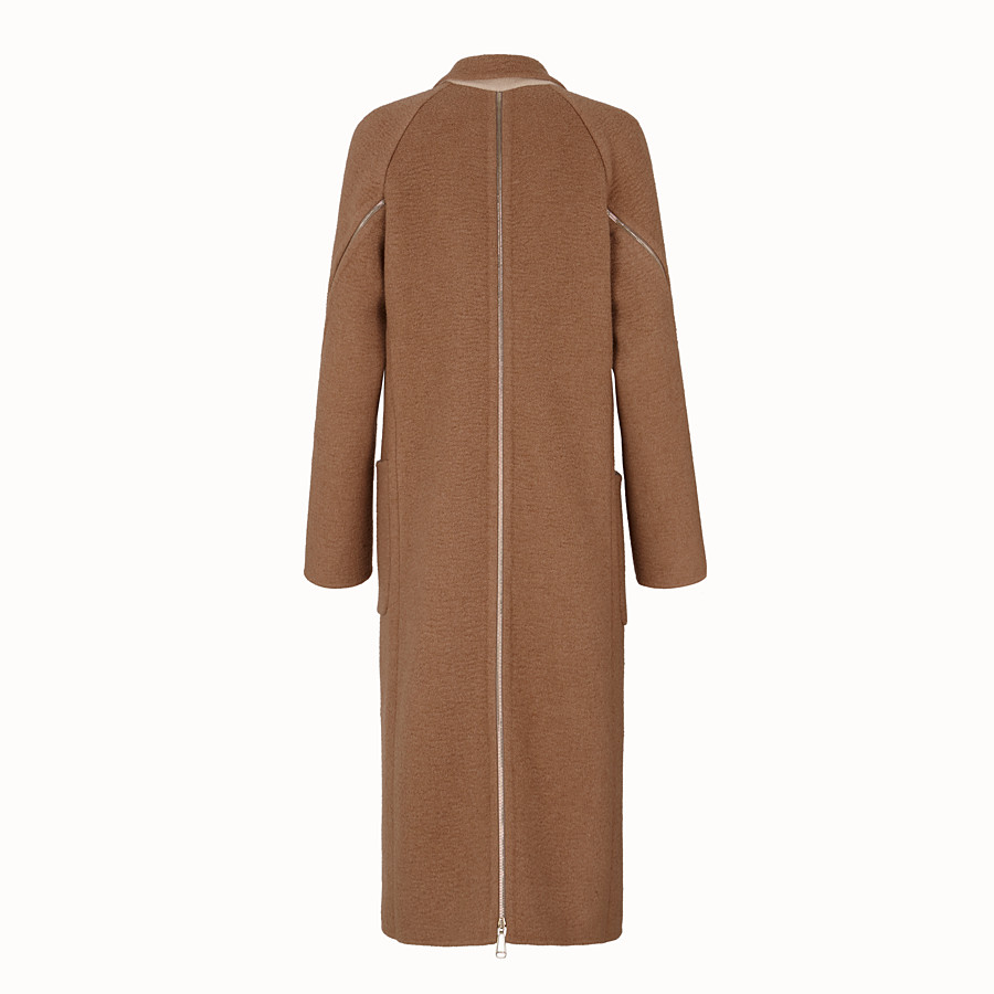 FENDI COAT - Beige camel coat - view 2 detail