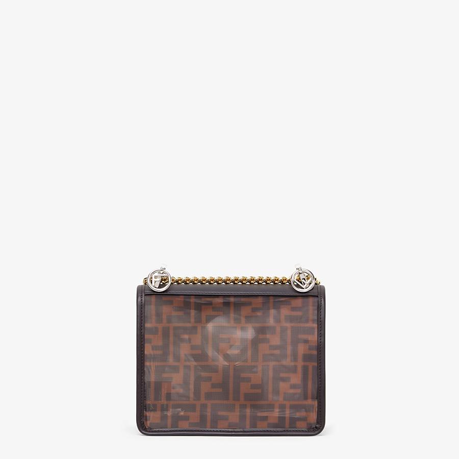 FENDI KAN I F SMALL - Brown tech mesh mini bag - view 4 detail