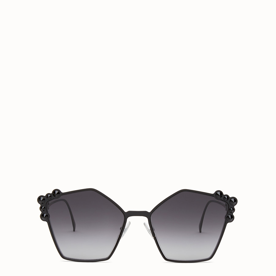 FENDI CAN EYE - Black sunglasses - view 1 detail