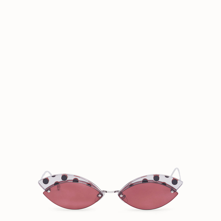 FENDI DEFENDER - Polka dots sunglasses - view 1 detail