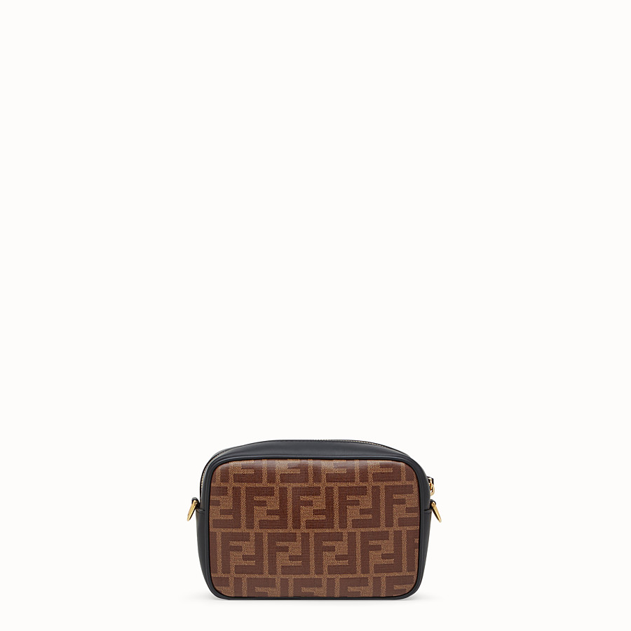 FENDI MINI CAMERA CASE - Multicolour canvas bag - view 3 detail