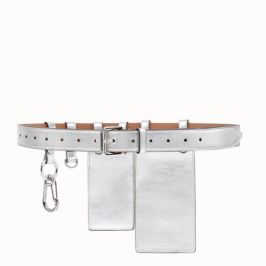 FENDI BELT - Fendi Prints On leather belt - view 2 detail