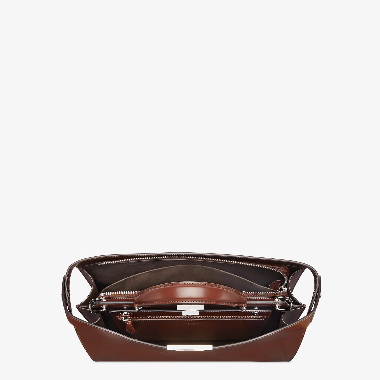FENDI PEEKABOO ISEEU MEDIUM - Brown leather bag - view 5 detail