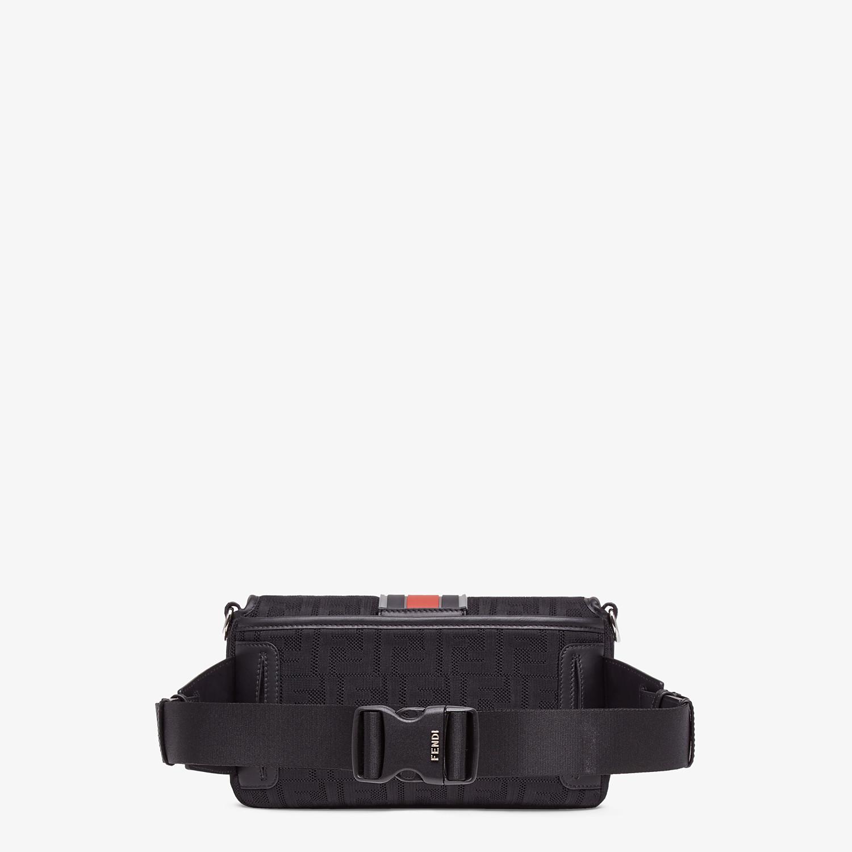 FENDI BAGUETTE - Black tech fabric bag - view 3 detail