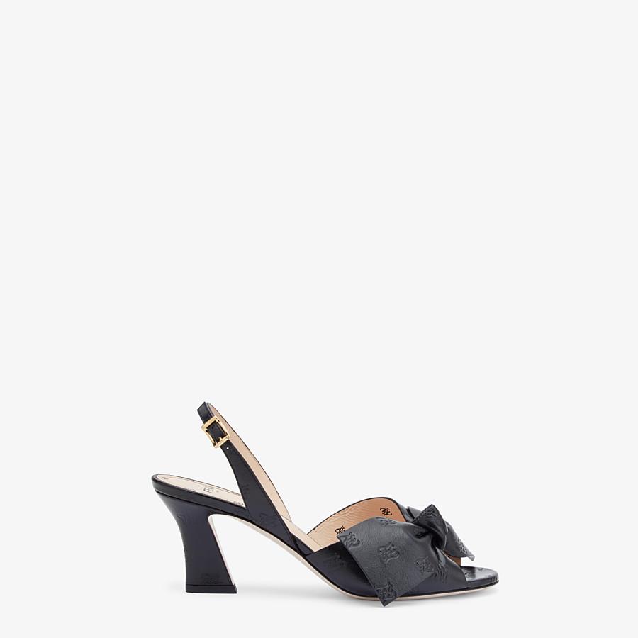 FENDI SANDALE - Sandale aus Leder in Schwarz - view 1 detail