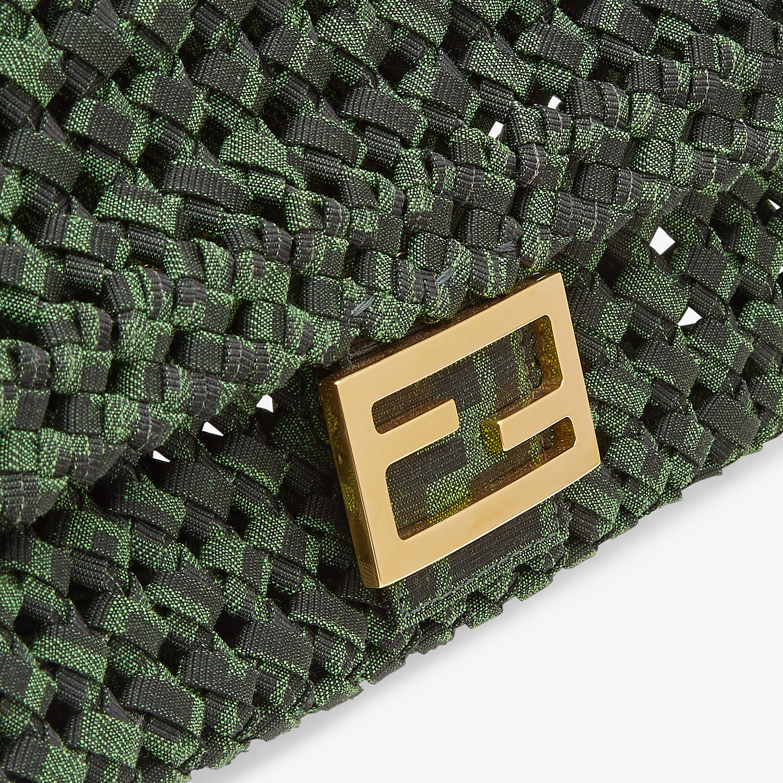 FENDI BAGUETTE - Jacquard fabric interlace bag - view 6 detail