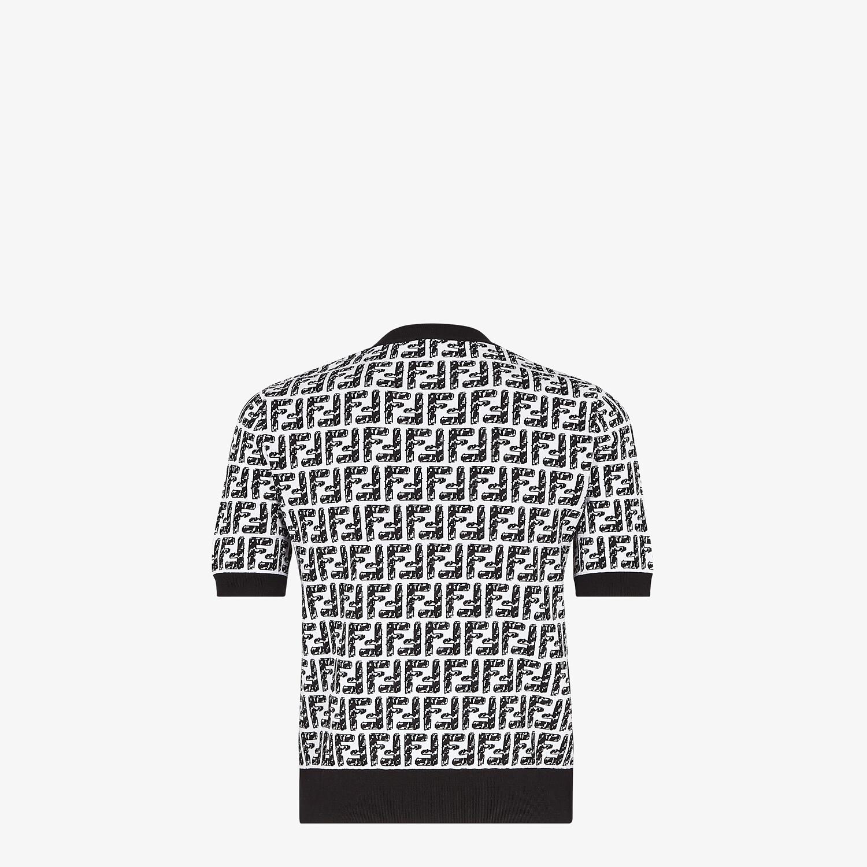 FENDI SWEATER - Fendi Roma Joshua Vides viscose sweater - view 2 detail