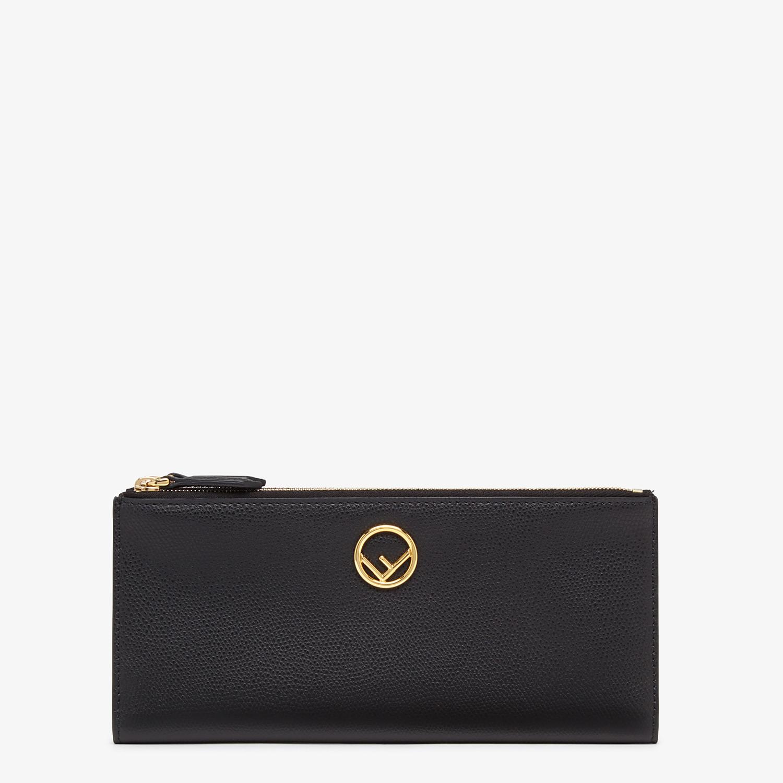 FENDI BIFOLD - Black leather wallet - view 1 detail